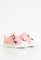 POP CANDY - Girls strap sneaker - pink