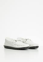 POP CANDY - Boys loafer - white