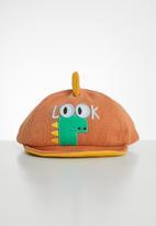 POP CANDY - Corduroy cap - orange