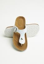 POP CANDY - Girls slip on sandal - white