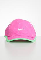 Nike - Graphic aop featherlight cap - pink