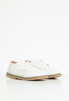 POP CANDY - Boys brogues - white