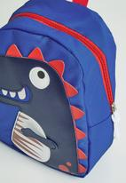 POP CANDY - Boys dino printed backpack - blue