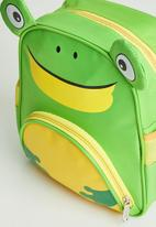 POP CANDY - Frog backpack - green & yellow