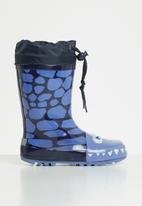 POP CANDY - Boys character rain boots - blue