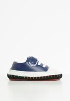 POP CANDY - Boys soft sole sneaker - blue