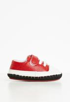 POP CANDY - Boys soft sole sneaker - red