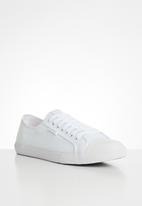Superdry. - Superdry. low pro sneaker - white