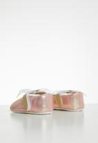 POP CANDY - Metallic bow pump - pink