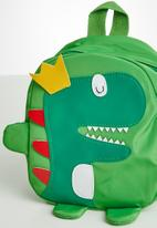 POP CANDY - Boys dino backpack - green