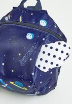 POP CANDY - Boys printed backpack - navy