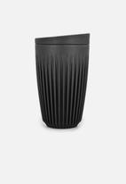 Huskee - Huskee cup & lid 350ml - charcoal
