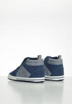 POP CANDY - Baby boys hi-top sneaker - navy