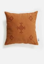 Sixth Floor - Ember cushion cover - rust