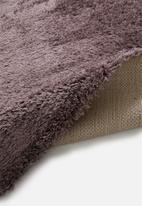 Fotakis - Skins long pile rug - dark pink