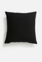 Sixth Floor - Flutter cushion cover - black & white