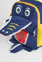 POP CANDY - Boys dino backpack - navy blue