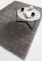 Fotakis - Skins long pile rug - dark grey