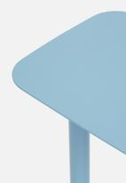 Emerging Creatives - Nora couch table - blue heaven