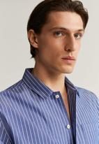 MANGO - Smile shirt - blue