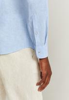 MANGO - Parrot shirt - blue