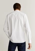MANGO - Jackson shirt - white