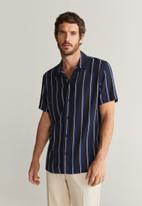 MANGO - Sirope shirt - navy