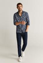MANGO - Bobal1 shirt - navy