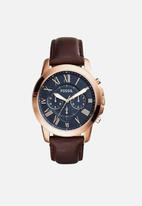 Fossil - Grant - rose gold