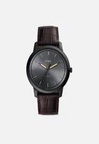 Fossil - The minimalist 3h - black