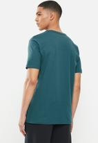 Quiksilver - Stone cold classic short sleeve tee - green