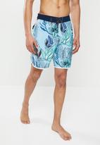 "Hurley - Domino 18"" shorts - blue gaze"