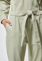 Superbalist - Boiler jumpsuit - sage