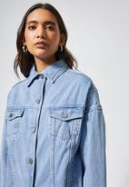 Superbalist - Tia denim jacket - light blue