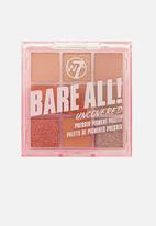 W7 Cosmetics - Bare All Pressed Pigment Palette - Uncovered