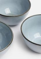 Sixth Floor - Indie bowl set of 4 - grey