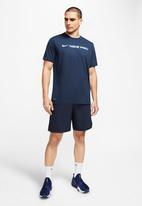 Nike - Nike pro dry short sleeve tee - navy