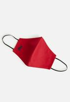 POLO - Polo branded face mask - red