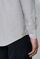 Superbalist - Jos slim fit long sleeve shirt - grey