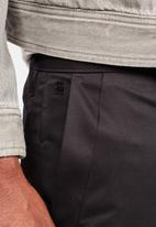 G-Star RAW - Bronson straight leg 1/2 shorts - black