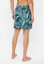 Quiksilver - Diamond dobby volley shorts - palms
