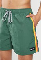 Quiksilver - Vibes volley 16 shorts - green