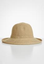 Urban Beach Hats - Hatfield hat - light brown