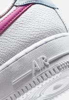 Nike - Air Force 1 '07 - white / fire pink-hydrogen blue