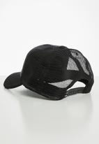 Quiksilver - Stripe pipes trucker - black