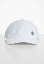 Asics Tiger - Essential 6 panel cap - white