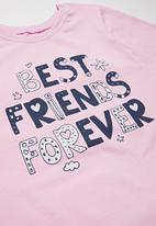 POP CANDY - Girls pyjama set - pink & navy