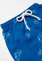 POP CANDY - Baby boys printed swimshort - blue