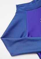 POP CANDY - Baby boys long sleeve rash vest - blue