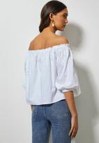 Superbalist - Off the shoulder blouse - white